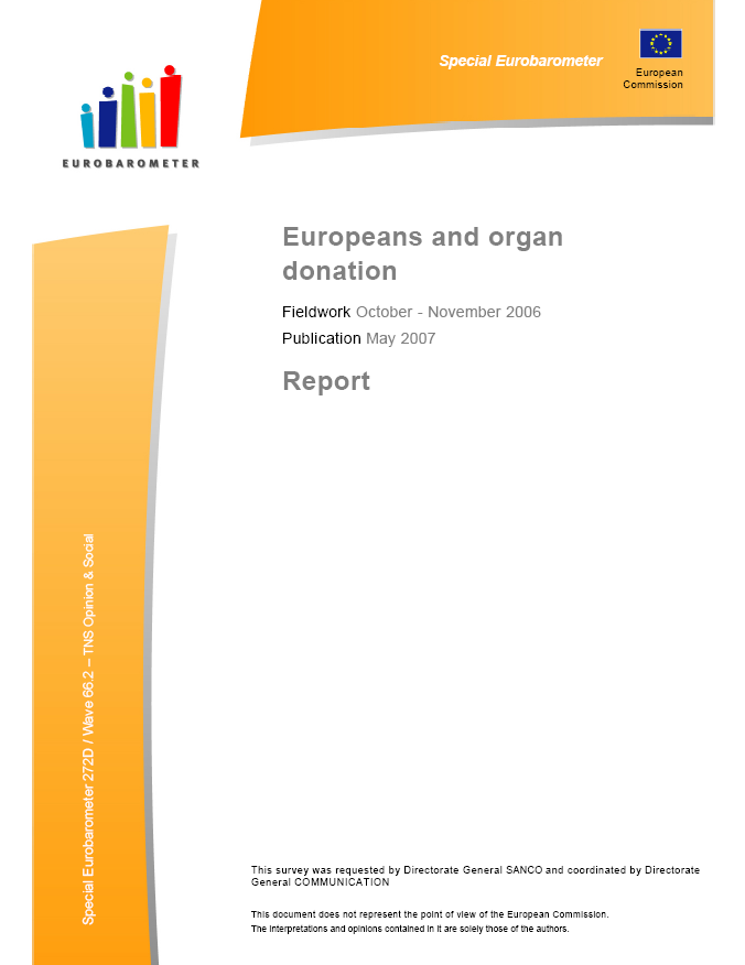 Europeans and organ donation (pdf)