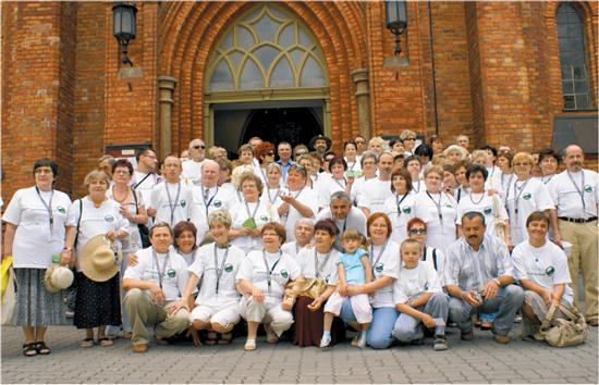 IX Zjazd Stowarzyszenia - po mszy świętej za naszych Dawców