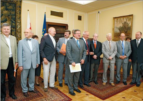 Spotkanie przedstawicieli środowiska transplantacyjnego z Prezydium Sejmu, 10 czerwca 2008 r.