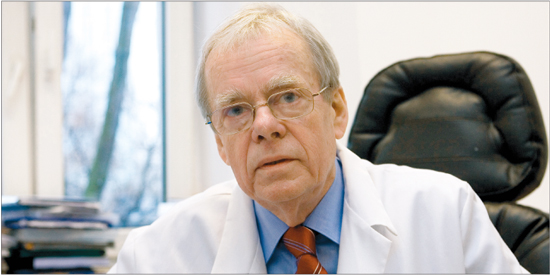 Prof. dr. hab. med. Wojciech Rowiński, wiceprezes zarządu Polskiej Unii Medycyny Transplantacyjnej, krajowy konsultant do spraw transplantologii (Fot. Wojciech Górski)
