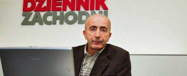 Prof. Lech Cierpka podczas redakcyjnego czatu (Š Fot. Arkadiusz Gola)