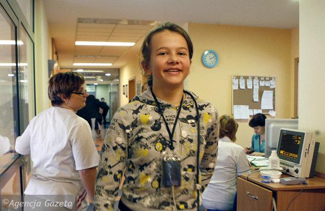 13-letnia Paulina Rachwał dzięki przeszczepowi serca robi to wszystko, co jej rówieśnicy. Fot. Grzegorz Celejewski