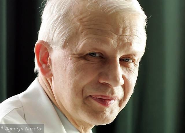 prof. Wiesław Jędrzejczak, Fot. Tomasz Wawer / AG