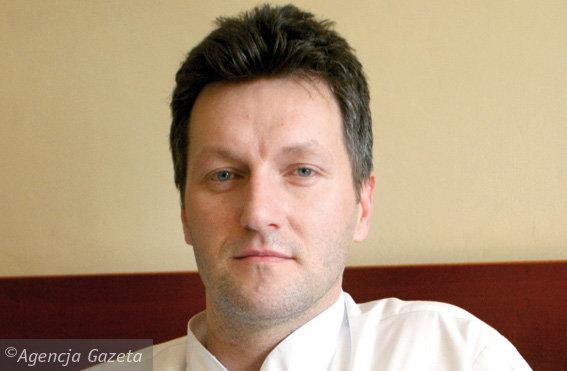 Dr Maciej Kaplita Fot.Rafał Mielnik/Agencja Gazeta
