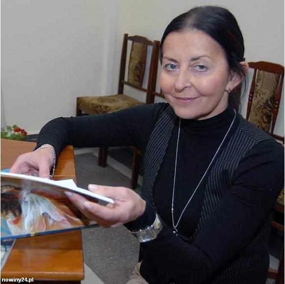 - Stan po przeszczepie można porównać do takiej sytuacji, kiedy ktoś jest zakochany - mówi pani Krystyna Murdzek, nadal aktywna trenerka narciarstwa. (Fot. Krystyna Baranowska)