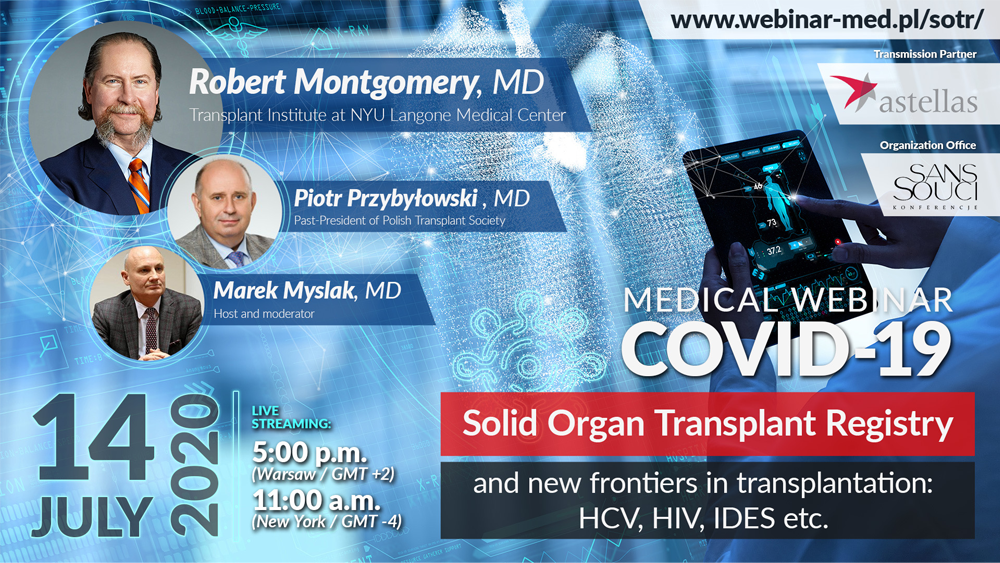 COVID-19 Solid Organ Transplant Registry and new frontiers in transplantation: HCV, HIV, IDES etc.